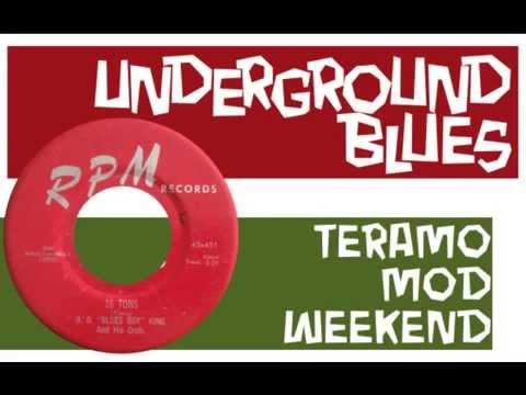"""b. b. """"blues boy"""" king - 16 tons (rpm)"""