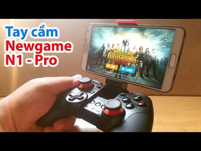 Chơi Game PUBG Mobile bằng tay cầm không dây Newgame N1 Pro - Giá 409K