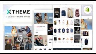 X-Theme - Responsive Shopify Theme | Themeforest Download