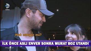 Aslı Enver Sevgilisi Murat Boz'u Hangi Sözleriyle Kıpkırmızı Yaptı