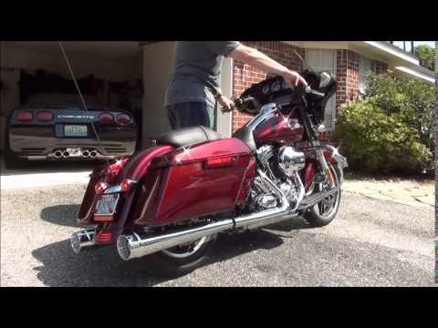 Cary Faas Racing Cfr Slip On Exhaust Harley Street Glide
