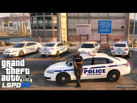 GTA 5 LSPDFR 0.3.1 - EPiSODE 315  - LET'S BE COPS - PORT OF LOS SANTOS (GTA 5 REAL LIFE POLICE MOD)