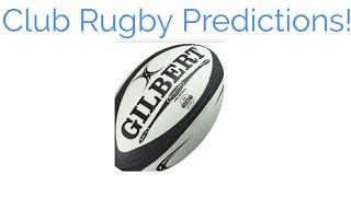 European Club Rugby Season Predictions!