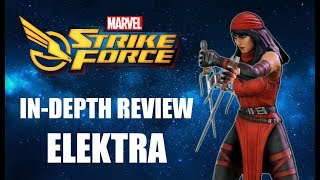 Elektra In-Depth Review - Marvel Strike Force