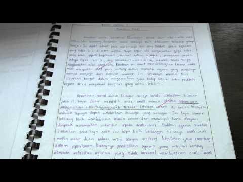 spm moral folio essay