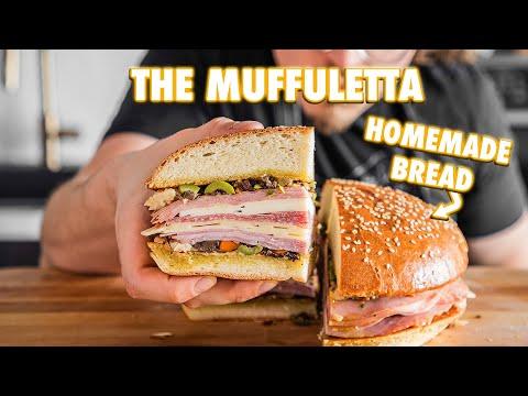Best Muffuletta Of Your Life With Homemade Muffuletta Bread