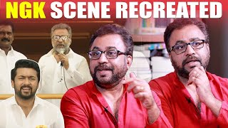 Selvaraghavan Inputs for NGK Viral Scene : Ponvannan Narrates | Surya