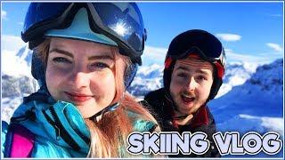 Lizzie's First Ski Trip! - Skiing Vlog