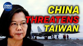 China threatens Taiwan with rare warning; Chinese wealthy and officials' escape route to EU blocked