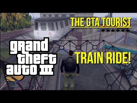The GTA III Tourist: Liberty City Train Ride and Stations Tour