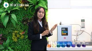 Máy lọc nước ion kiềm Fuji Smart i9 Nhật Bản siêu hydro bền tốt cho sức khỏe • Thế Giới Điện Giải