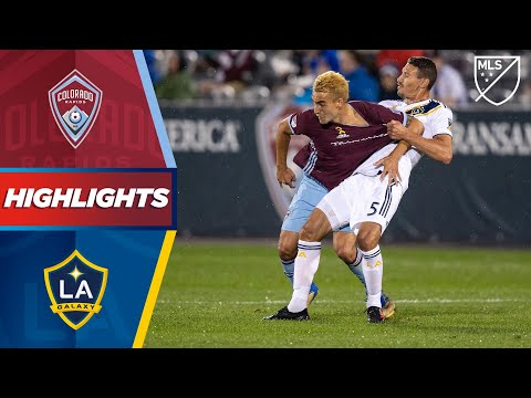 Colorado Rapids vs. LA Galaxy | Late Penalty Drama! | HIGHLI