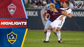 Colorado Rapids vs. LA Galaxy | Late Penalty Drama! | HIGHLIGHTS