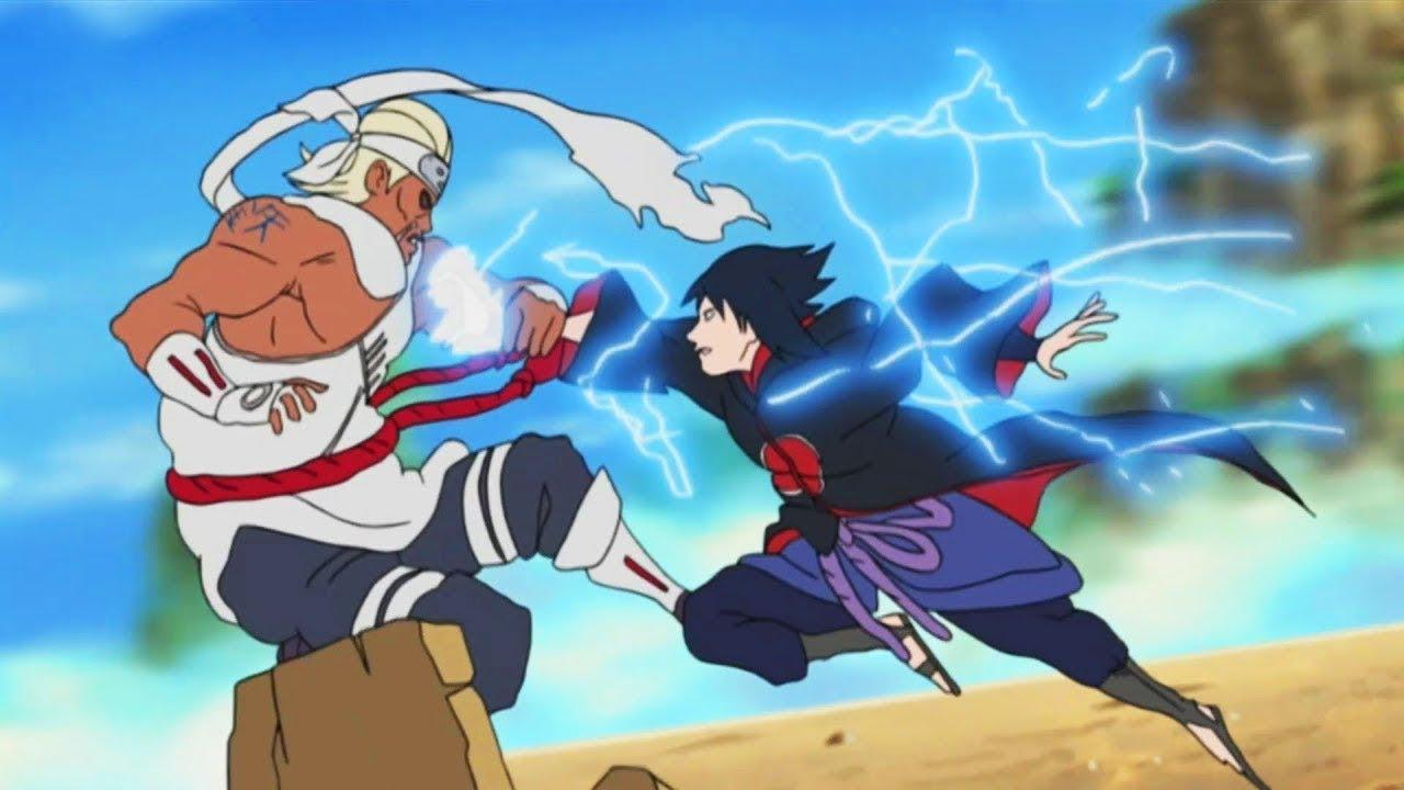 Download Sasuke vs Killer Bee _ Full Fight _ English Sub _ [Naruto Shippuden]