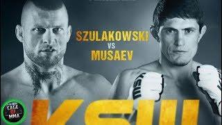 KSW 52 - Grzegorz Szulakowski vs Shamil Musaev