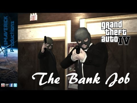 GTA 4  The Bank Job GameplayCommentary