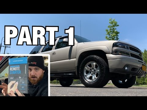 How to Install a Remote Start in your Gm Truck/Suv (1/2)