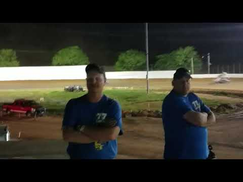 Ryan Quackenbush URC Bedford Speedway feature May 11, 2018