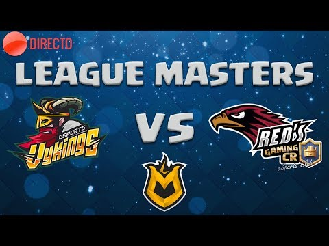 LEAGUE MASTERS | VYKINGS CLUB VS RED † S GAMING | Blue Nessie