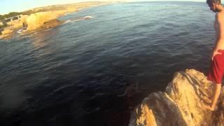 Corona del Mar Rock Jump