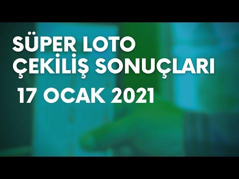 Süper Loto Sonuçları Belli Oldu   17 Ocak 2021