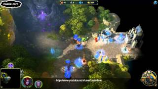 Might & Magic Heroes VI: Shades of Darkness - Naex (Dungeon) Gameplay