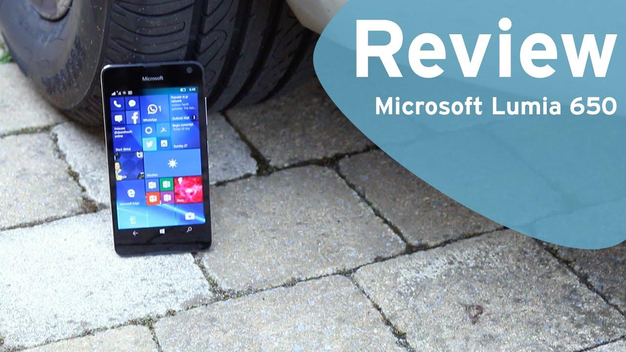 6d04b2e63b4301 Microsoft Lumia 650 review (Dutch) - YouTube