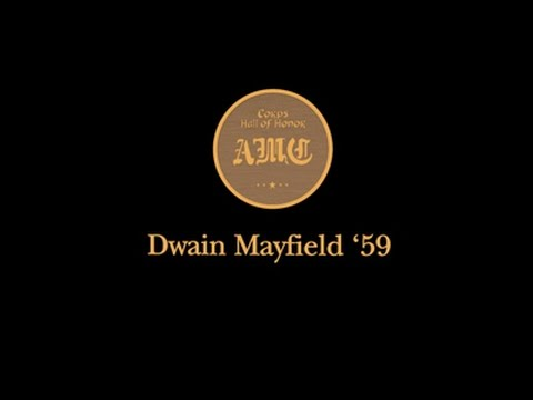 Hall of Honor 2016 - Dwain Mayfield '59