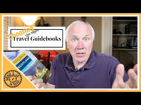 🌀Choosing Travel Guidebooks