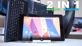 cUBE iWORK 10  Android  Windows 10  TWO in ONE !!
