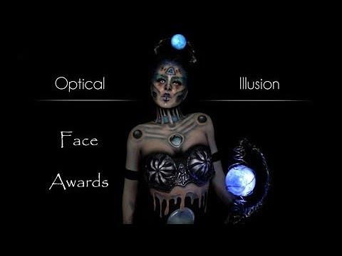 "FACE AWARDS • France• ""Enchantress Of Illusions""•OPTICAL ILLUSION• NYX Professional Makeup"