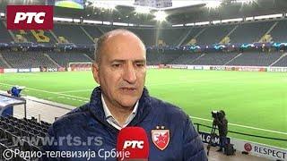 Mitar Mrkela za RTS pred utakmicu sa Jang Bojsima