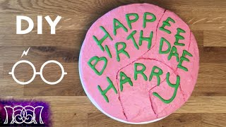 Harry Potter Birthday Cake - DIY