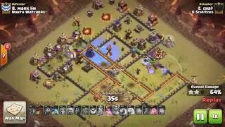 Clash of Clans: CWL Week 8 || 6Schlitzes vs North Watchers last 25mins + War Recap