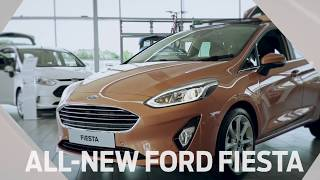 All-New Ford Fiesta 2017-2018 - Test Drive/Walk around/Review - UK Spec