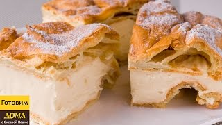 Торт с заварным кремом КАРПАТКА. Рецепт очень вкусного торта ✧ ГОТОВИМ ДОМА с Оксаной Пашко