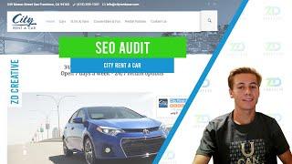 City Rent a Car SEO Audit