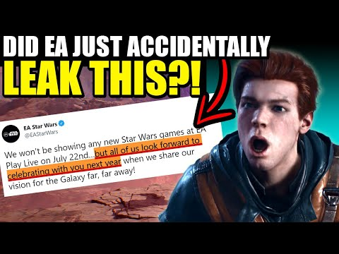 Did EA accidentally leak Jedi Fallen Order 2 trailer date? |