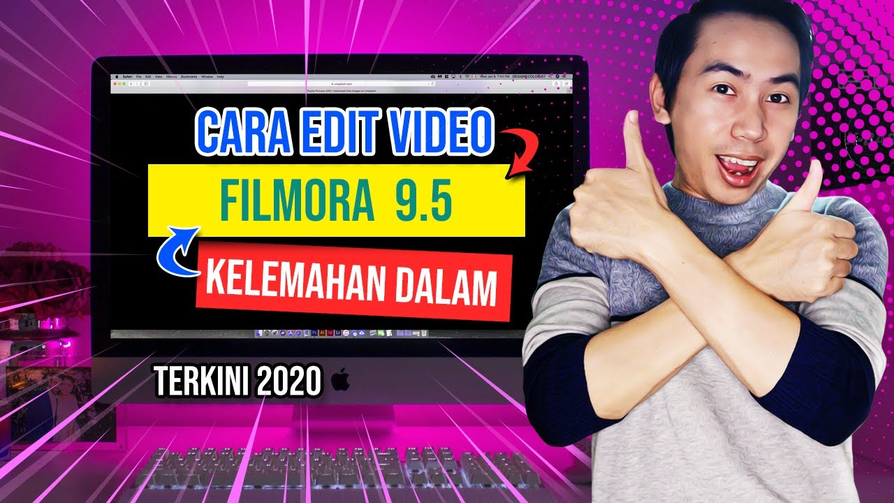 cara tutorial editing video filmora 9 🏼👉cara edit video filmora 9