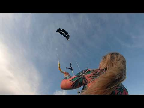 Core XR6 Kite Product Review- Lightwind Testing In Florida