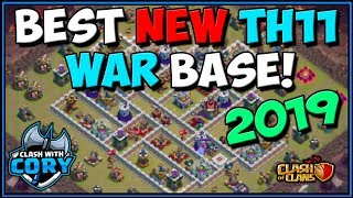 BEST OF CWL INVITE! TH11 WAR BASE ANTI 3 STAR | Town Hall 11 | Clash of Clans