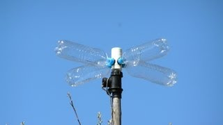 Как Сделать Ветряк из Пластиковых Бутылок Своими руками / How to Make Wind Turbine from bottles