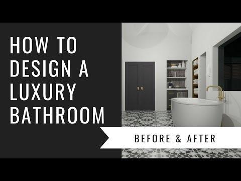 Arianne Bellizaire Interiors Design Presentation: How To Design A Luxury Bathroom
