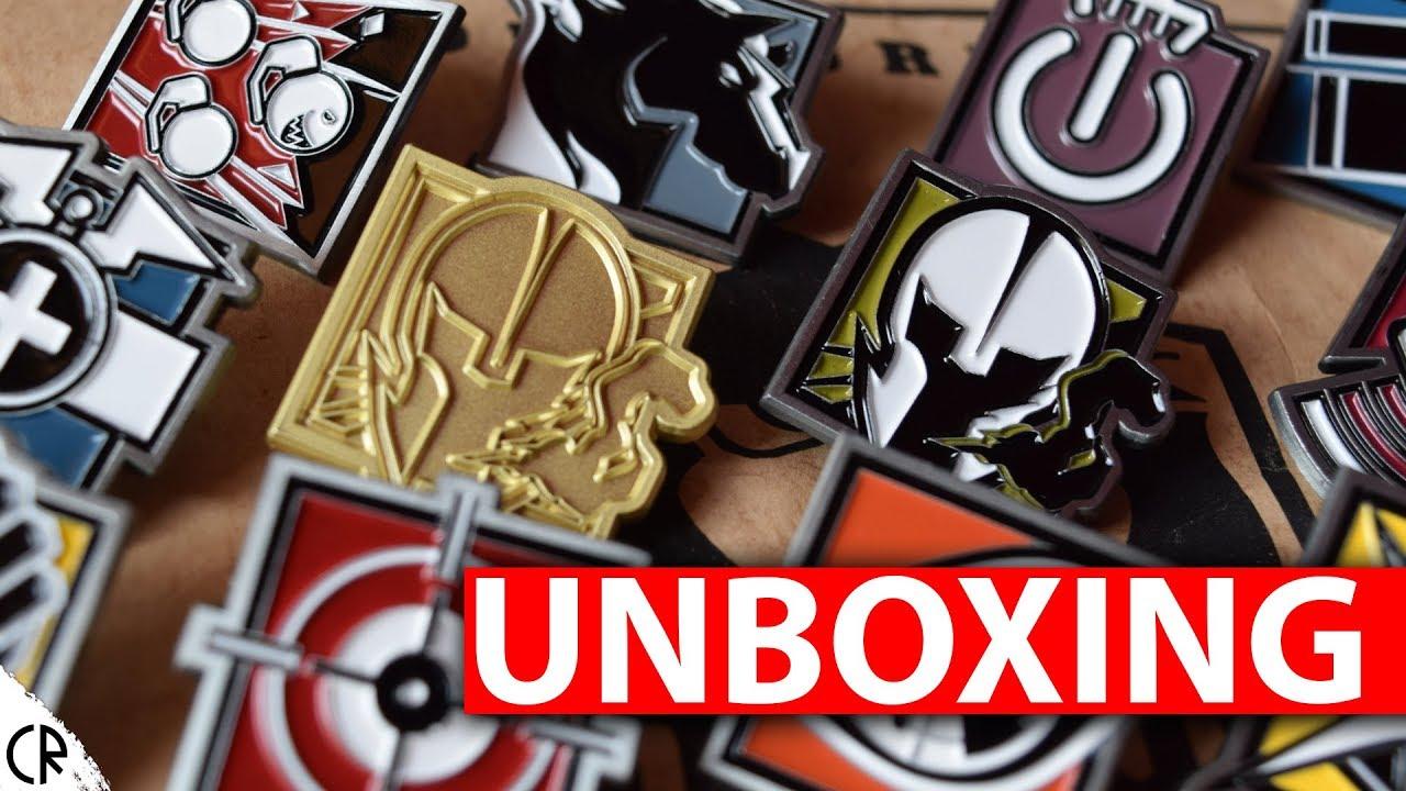 Unboxing Operator Pins - The Koyo Store - Tom Clancy's Rainbow Six Siege