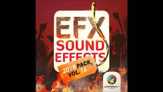 EFX Sound Effects 2018 Pack Vol.  16