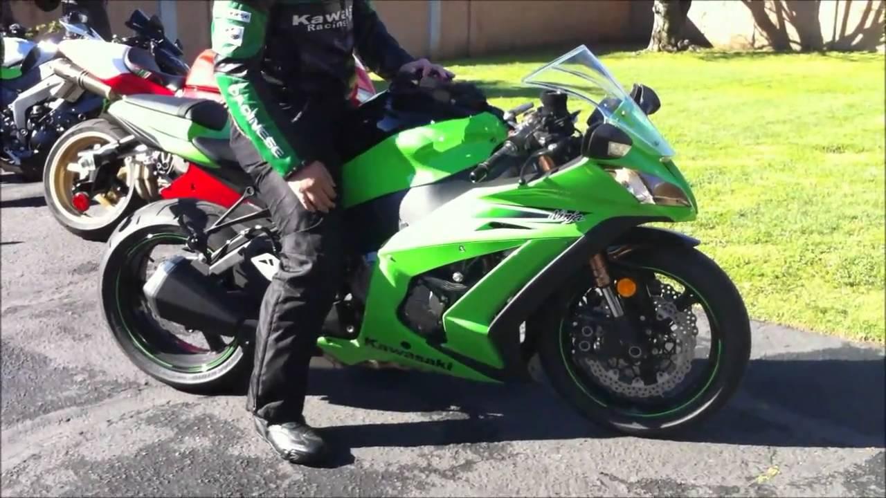 kawasaki ninja zx10r. sportbike motorcycle vlog - youtube