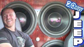 20,000 Watt Sound System w/ RICCO's 4 15