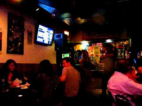 Karaoke at Blue Frog in Chicago