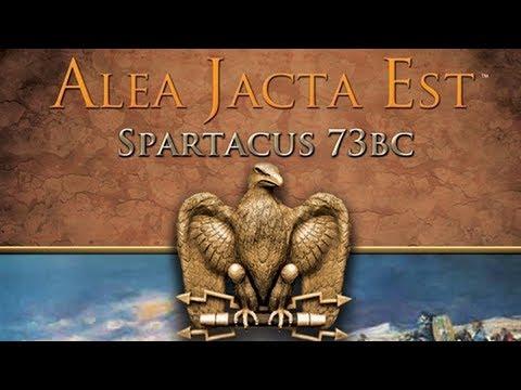 Alea Jacta Est game Spartacus 73 bc Rome Part 2  