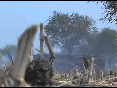 Destroyed villages in Abyei